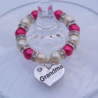 Grandma Wine Glass Charms